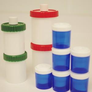 phamacy lab bottles